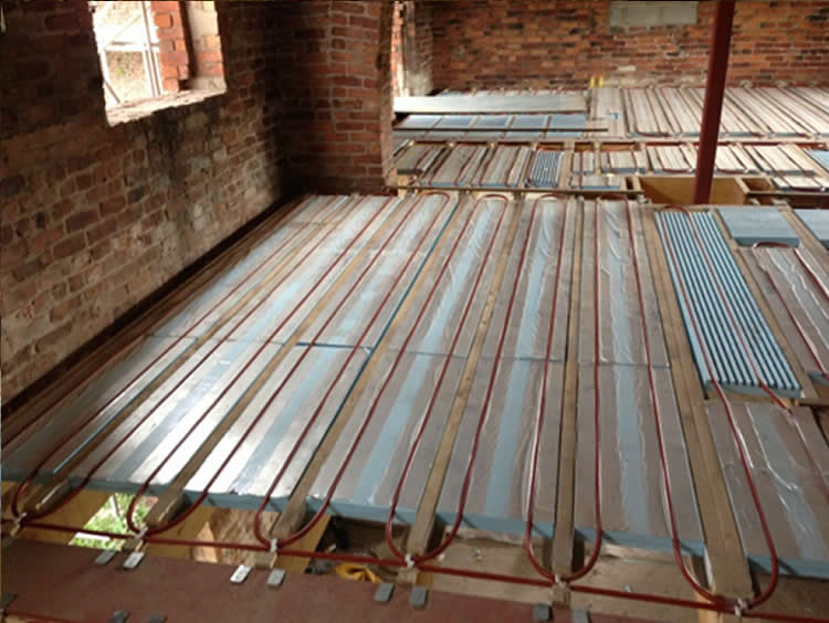 Barn Conversion Mwg Underfloor Heating Projects