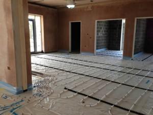 Cliprail underfloor heating system