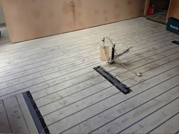 Systems Mwg Underfloor Heating Projects