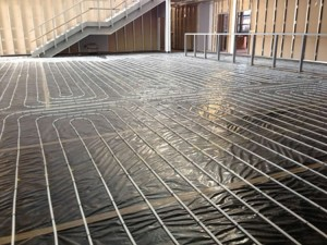 Underfloor heating project Blackburn